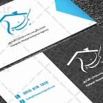 کارت ویزیت لایه باز شرکتی ایرانی